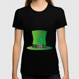 Irish Green Top Hat T-shirt