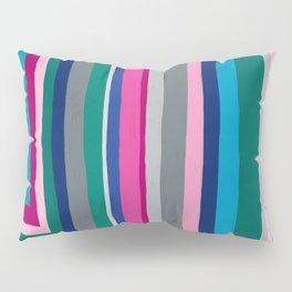 Colorful Lines Pillow Sham