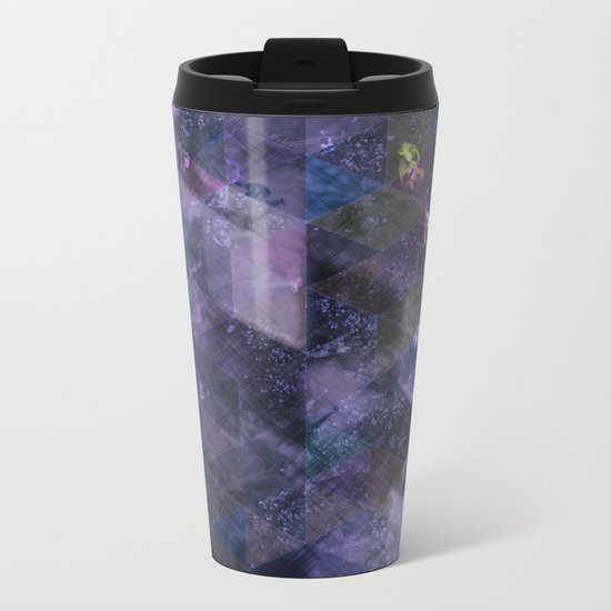 Abstract Geometric Background #21 Metal Travel Mug