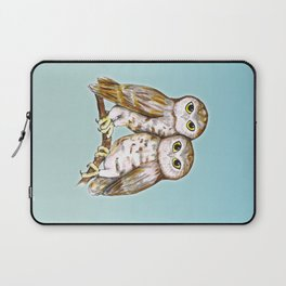 Two cute owls Laptop Sleeve