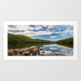 Candlewood Lake Art Print