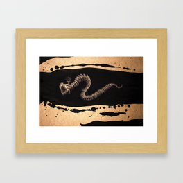 Undead Ouroboros Framed Art Print