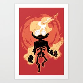 An Individual Of The Conflagrant Persuasion  Art Print