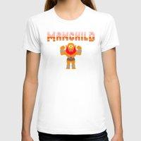 8bit T-shirts featuring 8Bit Manchild by manchildtees.com