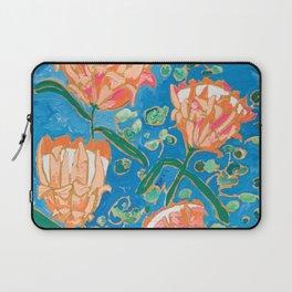 Four Orange Proteas Laptop Sleeve