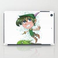 peter pan iPad Cases featuring Peter Pan by EY Cartoons