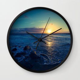 Somerset Coast Wall Clock