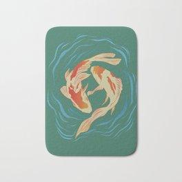Twin Koi II Bath Mat