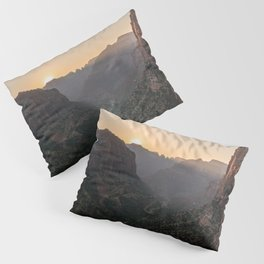 Sunkissed Canyon - Zion National Park Pillow Sham