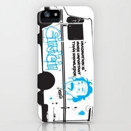 Albert Einstein - Streetwise Seniors iPhone Case