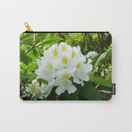 Wellesley White Carry-All Pouch