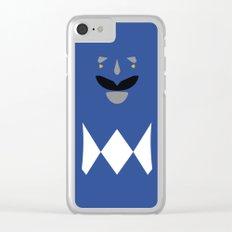 Blue Ranger, Power Ranger, Hero Clear iPhone Case