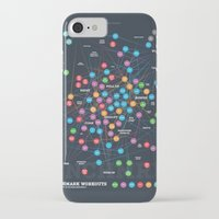 workout iPhone & iPod Cases featuring Benchmark Workout Infographic Poster by BNCHMRK