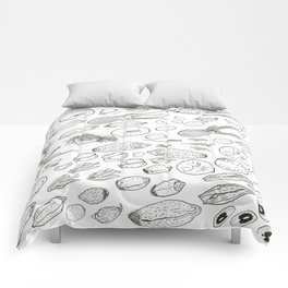 Exploration of the Seed Vault Comforters