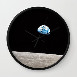 Earthrise William Anders Wall Clock