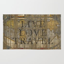 Live Love Travel Rug
