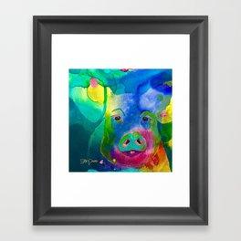 How Could I Forget You? Framed Art Print