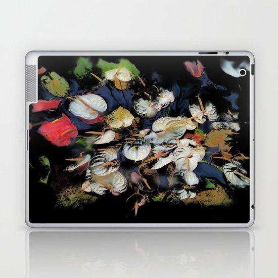 Anthurium Bunch Laptop & iPad Skin