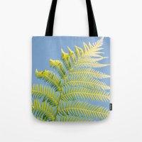 fern Tote Bags featuring Fern by Pati Designs