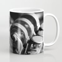 trumpet Mugs featuring Trumpet by Falko Follert Art-FF77