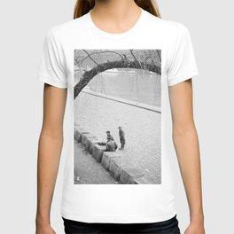 Mannen op de kade langs de Seine, Bestanddeelnr 254 0016 T-shirt