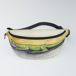 Lil Napping Lizard Fanny Pack