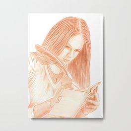 Dear Diary Metal Print