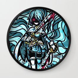 Mad Sayaka Wall Clock
