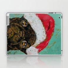 Santa Pug Laptop & iPad Skin
