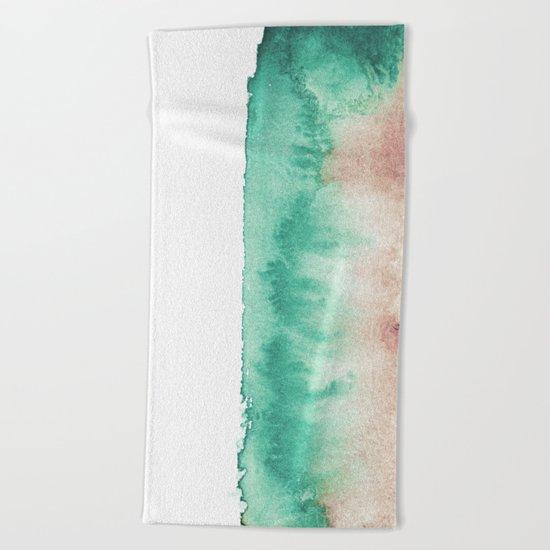 mineral 02 Beach Towel