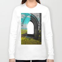 portal Long Sleeve T-shirts featuring Portal by Tobias Bowman