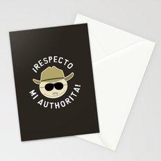 Respecto Mi Authorita! Stationery Cards