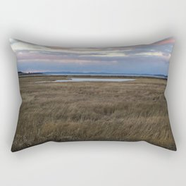 Coastal Cotton Candy Colors Rectangular Pillow