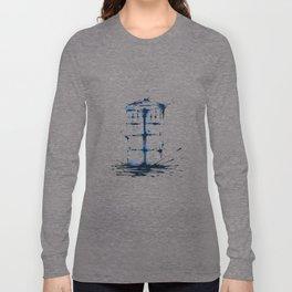 Splaaash Series - Blue Box Ink Long Sleeve T-shirt