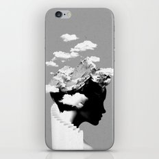 It's a cloudy day iPhone Skin