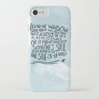 murakami iPhone & iPod Cases featuring BIRD OR SOUL by Josh LaFayette