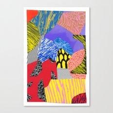 Colors & Shapes Canvas Print