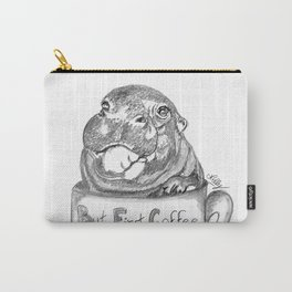 Hippo needs coffee Carry-All Pouch
