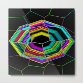 Octagonal and Some Metal Print
