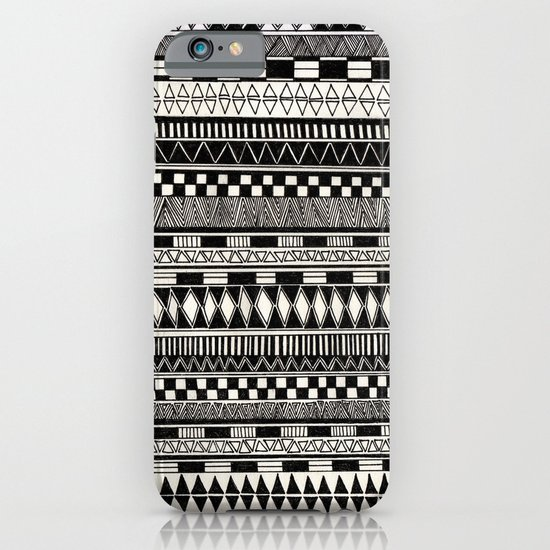 black//white iPhone & iPod Case