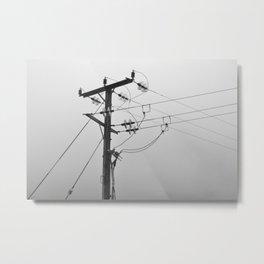 welsh wires Metal Print
