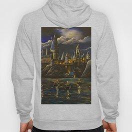 Hogwarts at Starry night Hoody