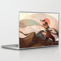 sun Laptop & iPad Skins featuring Spiritual State by Caleb Thomas