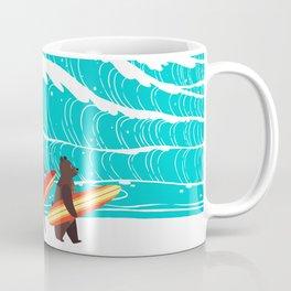 Summer Holiday Surfing Coffee Mug
