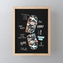 Skate Time Framed Mini Art Print