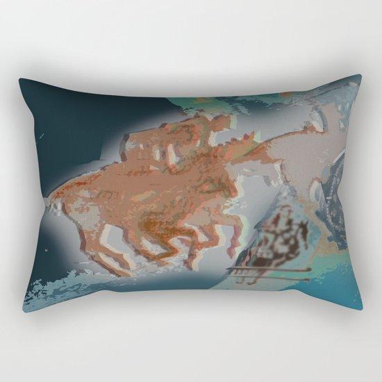Riders II Rectangular Pillow