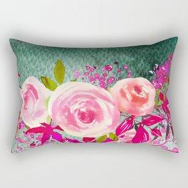 Flower Bouquet 85 Rectangular Pillow
