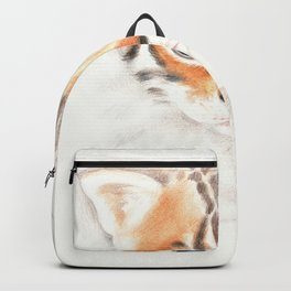Cute Bengal Kitten on The Prowl Backpack