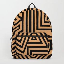 African Geometric Tribal Pattern 2 Backpack