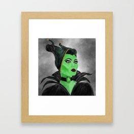 TheGreenQueen Framed Art Print